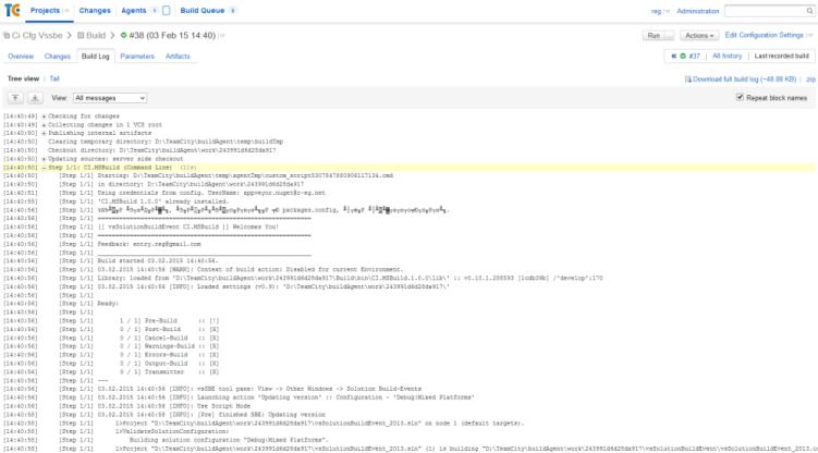 vsSolutionBuildEvent - Visual Studio Marketplace